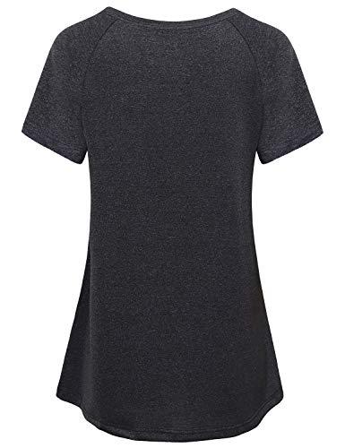Vindery Womens Activewear Dir Fit Yoga Top Workout Shirt Pullover Jacket