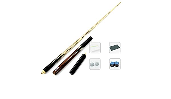 WXS Pool Cues, Eight Small Heads British 3/4 Piece Snooker Billar ...