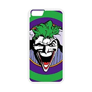 iPhone 6 Plus 5.5 Inch Cell Phone Case White Insane The Joker VIU962709
