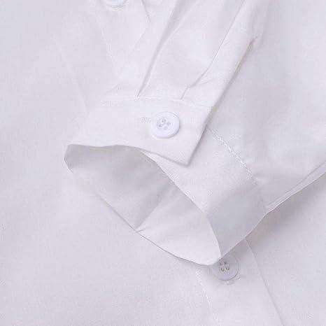 A-HXTM Camisa Camisa Larga para Mujer Tallas Grandes Color ...