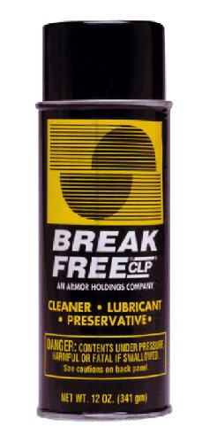 BreakFree CLP Gun Cleans Lubricates Prevent Aerosol Can, 12-Ounce/340gm, BF-CLP12