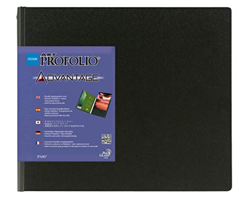 Itoya Art Profolio Advantage Presentation Book, 24 Sheet Protectors with Black Mounting Paper, 16.5 X 23.4 inches, Black (AD-24-A2) by ITOYA (Image #3)