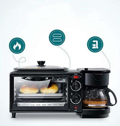 Multifunctionele Drie-In-Een Ontbijtmachine Huishoudelijke Elektrische Oven Broodrooster Koekenpan Mini-Oven
