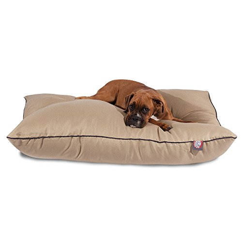 35x46 Khaki Super Value Pet Dog Bed By Majestic Pet Products Large from Majestic Pet