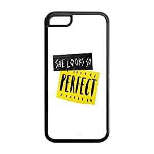 MMZ DIY PHONE CASEAMAF ? Accessories Custom Design 5 Seconds of Summer 5sos protection Cover Case For ipod touch 5 [ 5 sos ]