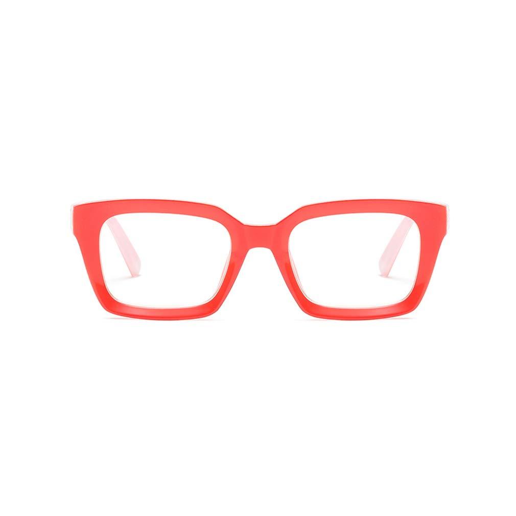 Q19090505 Cadre /à lunettes d/écor Lunettes de mode Lunettes de lecture qiansu UV400 Lunettes de vue transparentes
