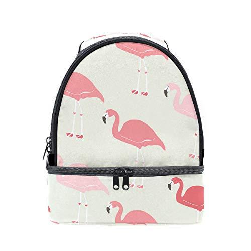 Lunch Bag Fabulous Flamingo Womens Insulated Lunch Tote Zipper Kids Lunch Box