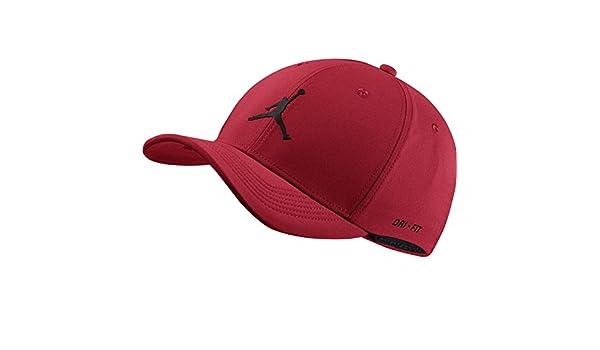 Jordan 897559-687 Gorra, Hombre, Rojo (Gym Red), S/M: Amazon.es: Deportes y aire libre