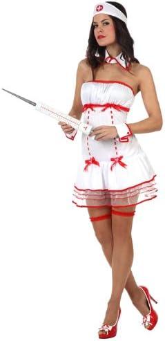 Atosa - Disfraz de enfermera sexy para mujer, talla S (XS) (10497 ...