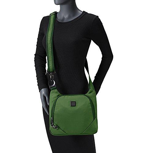 Lewis N. Clark Secura Anti-theft Cross Body Bag, Moss by Lewis N. Clark (Image #3)