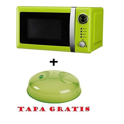 Microondas Jocel JMO001337, 20 L, 700 W, Verde+ tapa para ...