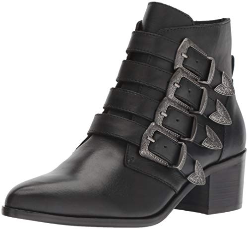 Women's Boot Fashion Madden Leather Black Billey Steve 5w7Zq