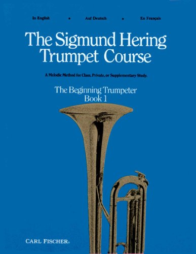 O5136 - The Sigmund Hering Trumpet Course, Book 1