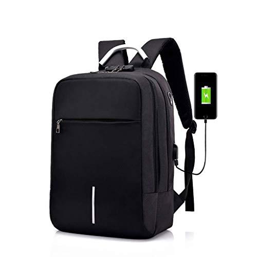 Amazon.com: QASEW Mochila para portátil de viaje, antirrobo, para negocios, con puerto de carga USB y interfaz de auriculares para estudiantes ...
