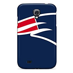 Durable Hard Phone Covers For Samsung Galaxy S4 With Support Your Personal Customized Realistic New England Patriots Pictures JoanneOickle