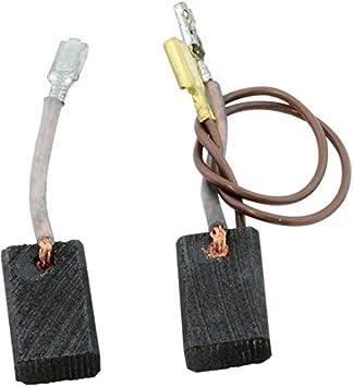 Spazzole Motore Carbone Per Bosch GWS 14-125 ci 5x10mm 1607014176
