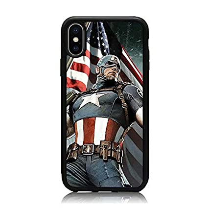 coque iphone xs captain america
