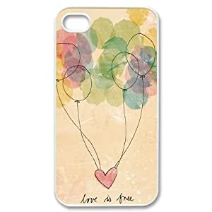 Balloons ZLB810418 Customized Phone Case for Iphone 4,4S, Iphone 4,4S Case