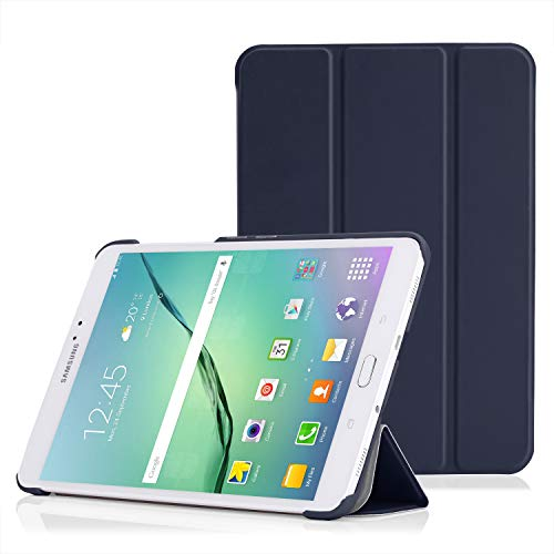 MoKo Tab S2 8.0 Case - Slim Lightweight Smart Stand Cover Case with Auto Wake/Sleep for Samsung Galaxy Tab S2 / S2 Nook 8.0 inch Tablet, Indigo