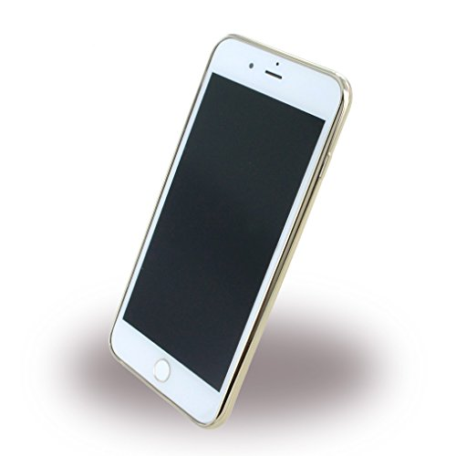 GUESS TPU Case Guess Heart für Apple iPhone 7 Plus Gold