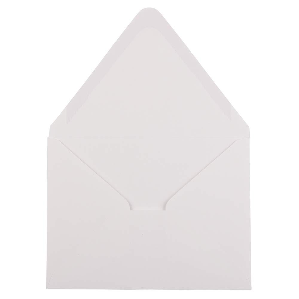 JAM Paper Sobres de Negocios #10-104,8 x 241,3 mm Blanco Paquete de 50