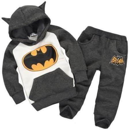 Conjunto de pantalones de chándal con capucha de Batman para niños ...