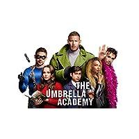 TianSW The Umbrella Academy Season 1 (25 x 14 inch or 43 x 24 inch/62 x 35 cm or 107 x 60 cm) Waterproof Poster No Fading