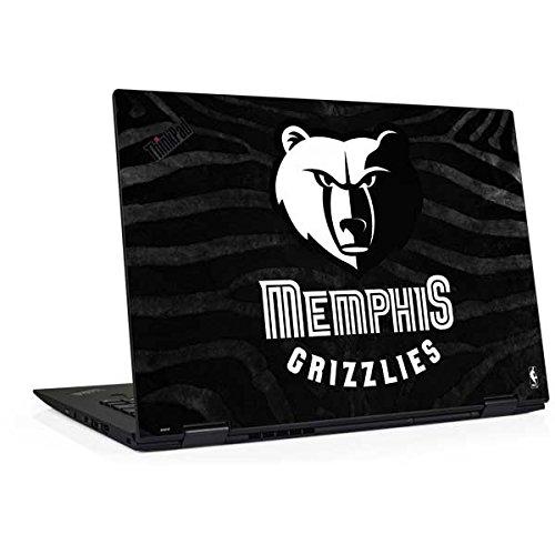 Skinit NBA Memphis Grizzlies Thinkpad X1 Yoga (3rd Gen, 2018) Skin - Memphis Grizzlies Black Animal Print Design - Ultra Thin, Lightweight Vinyl Decal Protection (Memphis Light 3)
