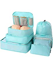 7-Pcs Lightweight Luggage Packing Organizers Packing Cubes for Travel Accessories