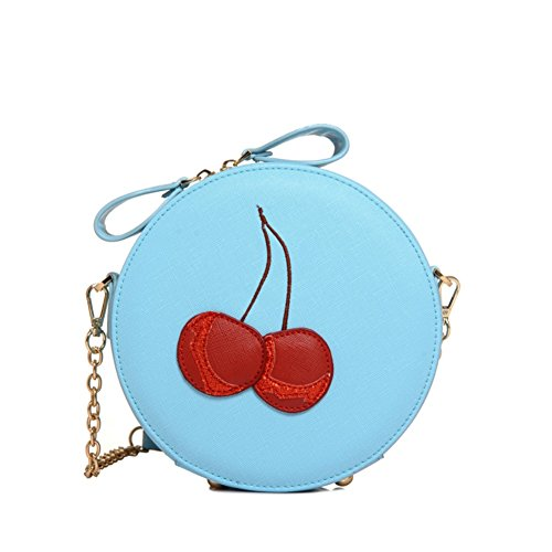 Fashion PU Leather Sweet Lady Women's Handbag,Round Buns (Ace Hardware Door Handles)