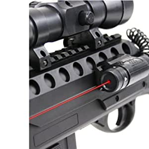 Double Eagle M47 B2 Awesome Airsoft Gun Pump Action Shotgun W/ LASER LIGHT FULLY LOADED 330 FPS FAST !!!