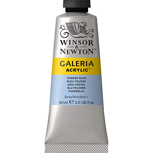 Winsor & Newton Galeria Acrylic Paint, 60-ml Tube, Powder Blue