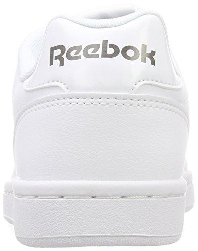 Zapatillas Complete Royal Reebok 000 CLN Mujer Tenis de White para Blanco Pewter twOtq5C
