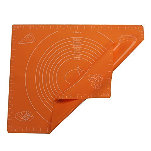 photo Wallpaper of FATCHOI-FATCHOI Silicone Baking Mat For Pastry-Orange