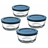 Deals on 4-Ct Anchor Hocking Classic Glass Food Storage Containers