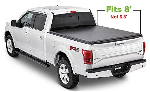 Tonno Pro Tonno Fold 42-303 TRI-FOLD Truck Bed Tonneau Cover 1999-2018 Ford F-250, F-350, F-450 | Fits 8' Bed (2018 F 250 Tonneau Cover 8)
