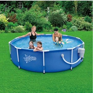 round frame pool 10 x 30 with 580 gph skimmerplus