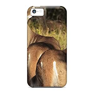 Top Quality Case Cover For Iphone 5c Case With Nice 2 Young Bucks In The Woods Appearance