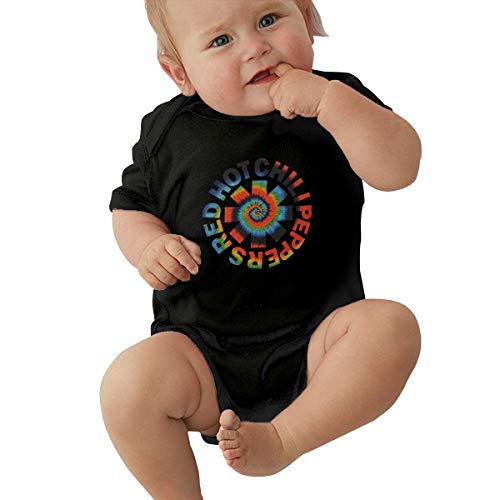 Red Hot Chili Peppers Baby Onesie (Censu Boys Girls Baby Red Hot Chili Peppers Sign 100% Cotton Short-Sleeve Creeper Onesies Funny)