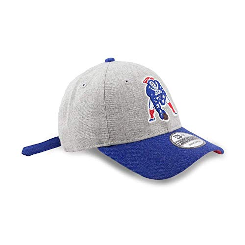 - New England Patriots New Era 9Forty NFL Historic Heather Crisp 2 Adjustable Hat