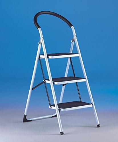 Taburete Acero 4 peldaños – Escalera hierro – escalera industrial hierro – escalera Hierro: Amazon.es: Bricolaje y herramientas