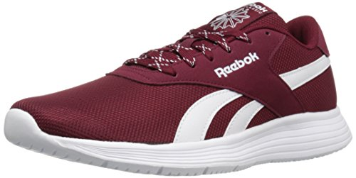 Reebok Mens Royal Ec Ride Fashion Sneaker College Bordeaux / Bianco