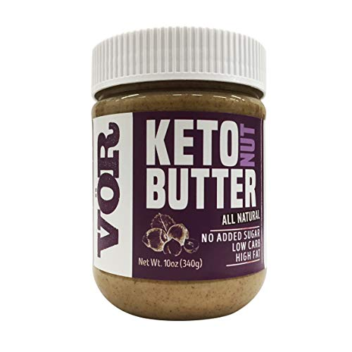 Vör Keto Nut Butter 10oz Jar (Best Nut Butter For Keto)