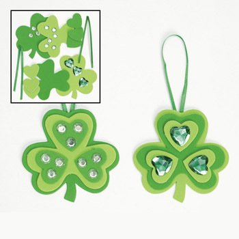Shamrock Ornament Craft Kit - Crafts for Kids & Ornament Crafts