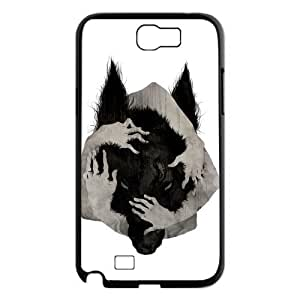 Wolf Art Pattern Hard Case Cover For Samsung Galaxy Note 2 Case TSL331419
