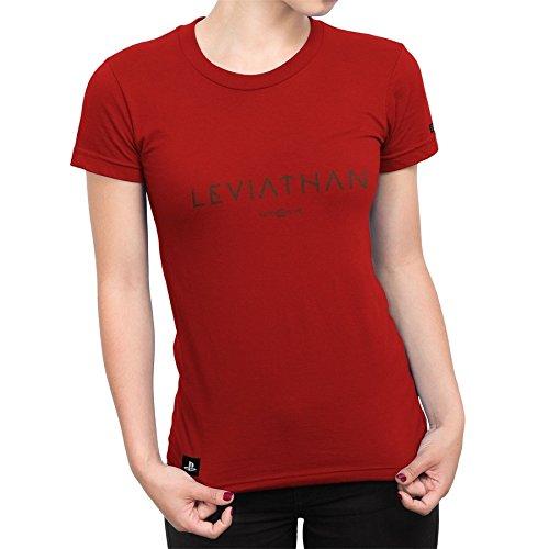 Camiseta Feminina God Of War Leviathan - Vermelho - M
