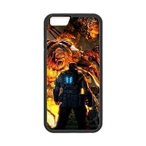 iphone6 4.7 inch Phone Case Black Gears of War JG247893