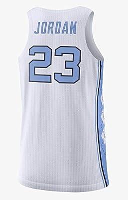 Nike Jordan North Carolina Tar Heels Maillot de Basketball