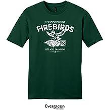 Throwbackmax 1970 Pottstown Firebirds ACFL Champs Football Tee Shirt