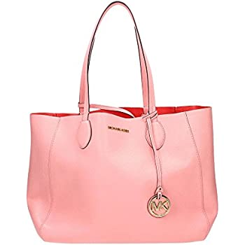 42629d459c7e Amazon.com  Michael Kors Meredith Leather Tote - Soft Pink  Shoes